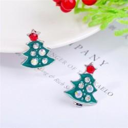 * 13 - Karácsonyfa hóember szarvas harang fül fülbevalók karácsony party ékszer ajándék