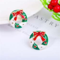 * 12 - Karácsonyfa hóember szarvas harang fül fülbevalók karácsony party ékszer ajándék