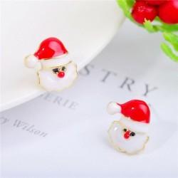 * 9 - Karácsonyfa hóember szarvas harang fül fülbevalók karácsony party ékszer ajándék
