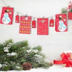 Nincs szín - Klipek Nátronpapír karácsonyi ajándékzsákok matricák címkék karácsonyi adventi naptár