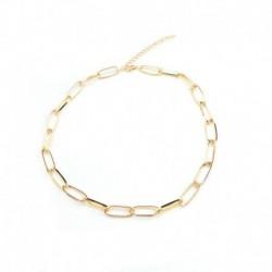 Arany - Divat varázsa ékszer medál lánc egyszerű choker vaskos nyilatkozat vállpántos nyaklánc