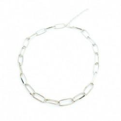 Ezüst - Divat varázsa ékszer medál lánc egyszerű choker vaskos nyilatkozat vállpántos nyaklánc