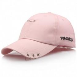 Rózsaszín - Baseball sapka szárnyak Kpop Bangtan Boys Iron Ring Snapback Sun Hat sapka divat