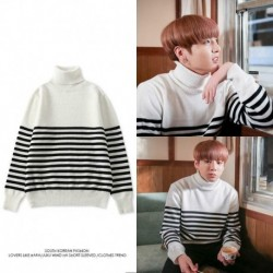 XL - Jung Kook Bangtan Boys pulóver pulóver pulóver hosszú ujjú pulóver