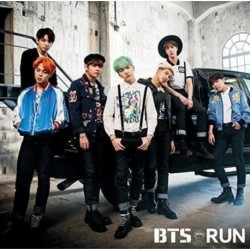 BTS RUN CD maxi kislemez - Normál Japán kiadás - KPOP - BTS - Bangtan Boys