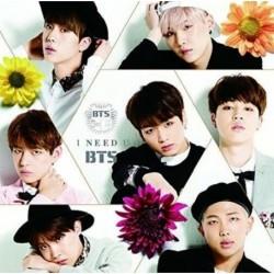 I NEED U CD maxi kislemez - Normál Japán első kiadás - KPOP - BTS - Bangtan Boys