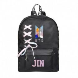 JIN - Fekete hátitáska - KPOP - BTS - Bangtan Boys