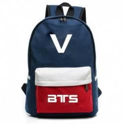 V - Kék hátitáska - KPOP - BTS - Bangtan Boys