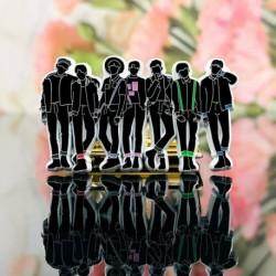 BTS banda kitűző - KPOP - BTS - Bangtan Boys