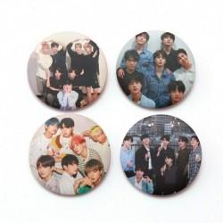 2 - 7db / szett Kpop Bangtan fiúcsapok imádják magad Könnyalbum brossok kitűző