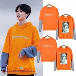 M - JIMIN BTS Bangtan kapucnis pulóver Kpop koreai divattérkép a Soul 7 Dynamite MOTS-ból