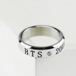 Ezüst színű BTS gyűrű - 2013. 06. 12. - KPOP - BTS - Bangtan Boys