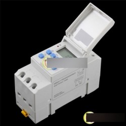 THC15A digitális LCD időzítő idő relé kapcsoló 04