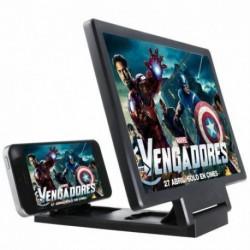 * 6 - 12 hüvelykes naplók 3D mobiltelefon képernyő Nagyító videó asztali összecsukható konzol