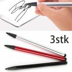 Nincs szín - 3db Kapazitiver toll érintőképernyős érintőceruza Bleistift f Tablet iPad Handy Samsung
