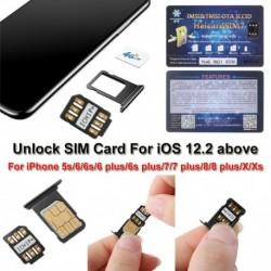 Nincs szín - 200x HEICARD UNLOCK Chip iPhone X XS 8 7   SIM-kártya feloldása ICCID IOS 13