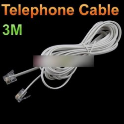 3 m ADSL modem telefon kábel