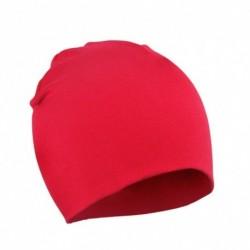 Piros - Baby Cap Beanie Boys Girls tipegő csecsemő gyermekek pamut puha aranyos unisex kalap
