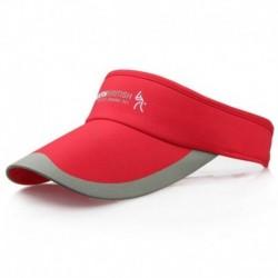 Piros - Divat tenisz sportok állítható sapka napellenző golf sapka fejpánt kalap strandvizor