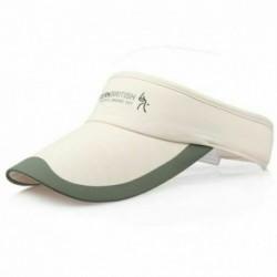 Bézs - Divat tenisz sportok állítható sapka napellenző golf sapka fejpánt kalap strandvizor