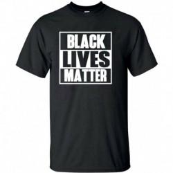 M - BLACK LIVES MATTER póló ANTI RACISM Mozgalom Riot Protest Justice Férfi hölgyek