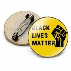 * 3 - Black America Lives Matter Bross Pin Bross Badge Zománc tűs Skeleton 4 Style
