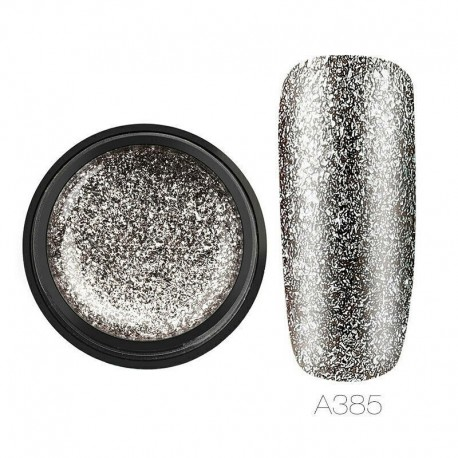 RFA385 - 5ml Glitter Gel körömlakk készlet platina festék körmök Art UV Polírozó