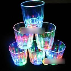 1db Mini villogó LED party pohár