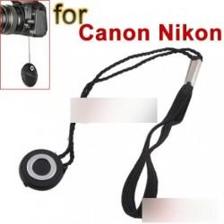 DSLR SLR lencsevédő sapka zsinór Canon Nikon