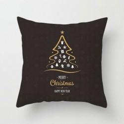 4 * - Új 18x18 hüvelykes karácsonyi témájú párnahuzat kanapé autóvető párnahuzatok lakberendezés
