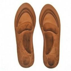 Barna (35-40 yard) - 4D Memory Foam Orthotic Arch Sport támogató cipő talpbetét párna fájdalomcsillapító DE
