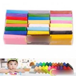 1db színes Fimo Effect gyurma blokkok Soft