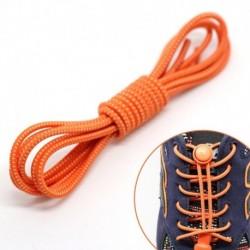 narancssárga - Rugalmas csipkék zár cipőfűzők Futó triatlon sportcipő edző Nincs nyakkendő fűző