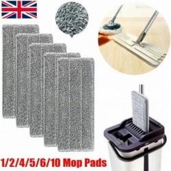 Nincs szín - 5x mikroszálas felmosószövet lapos pótló mop törülköző mop fej permetező mop pad eszközök
