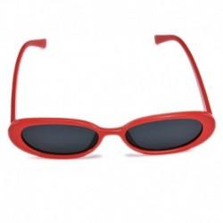 Q-Piros   Szürke - Női lapos objektíves tükrös keretű szemüveg fém túlméretes macskaszem UV400 napszemüveg