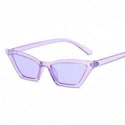 Lila - Divat női macskaszem napszemüveg RETRO kicsi keret UV400 szemüveg divat