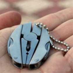 * 13 Mini összecsukható - Hordozható kreatív ötvözet fém kulcstartó autó kulcstartó unisex kulcstartó kulcstartó