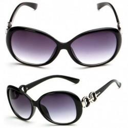 Világos fekete - HOT szemüveg Retro Vintage nagyméretű női divattervező napszemüveg szemüveg USA