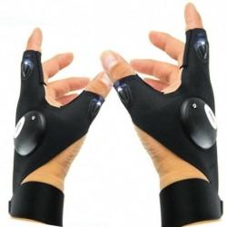 Bal   Jobb kéz - Hasznos LED-es világító ujjas világító kesztyűk automatikus javítás a szabadban villogó tárgy