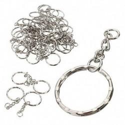 * 5 10db / 4. tétel link - Kreatív fémötvözet kulcstartó kulcstartó unisex kulcstartó iránytű kulcstartó gyűrű
