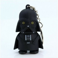 * 27 LED-es lámpa fekete csillag ... - Kreatív fémötvözet kulcstartó kulcstartó unisex kulcstartó iránytű kulcstartó