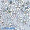 SS6ABďĽˆ2.0mmďĽ ‰ 1440PCS - 1440db köröm lapos hátsó strasszos csillogó gyémánt drágakövek 3D tippek dekoráció