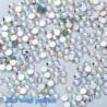 SS5AB (1,8 mm) 1440PCS - 1440db köröm lapos hátsó strasszos csillogó gyémánt drágakövek 3D tippek dekoráció
