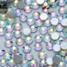 SS8ABďĽˆ2.4mmďĽ ‰ 1440PCS - 1440db köröm lapos hátsó strasszos csillogó gyémánt drágakövek 3D tippek dekoráció