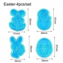 Húsvéti formák - 4db-os szett - Sütemény formázó - kiszúró forma - B verzió