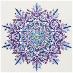Mandala-KY010 - 5D barkács különleges alakú gyémántfestés mandala keresztszemes mozaik készletek