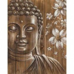Nincs szín - 5D barkács teljes fúró gyémántfestés Buddha keresztszemes hímzés mozaik