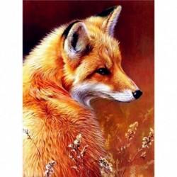 Nincs szín - Nesrunx gyémántfestés számkészlettel, Art Art Full Round Drill Animal