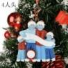 4 tagú családtag - 2020 Boldog karácsonyt függő díszek Családi személyre szabott karácsonyi dekoráció a legjobb