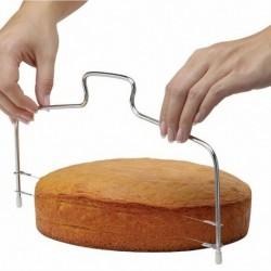 Nincs szín - UK CAKE szeletelő kenyérvágó huzalvágó konyhai dekor sütőeszköz-szintező
